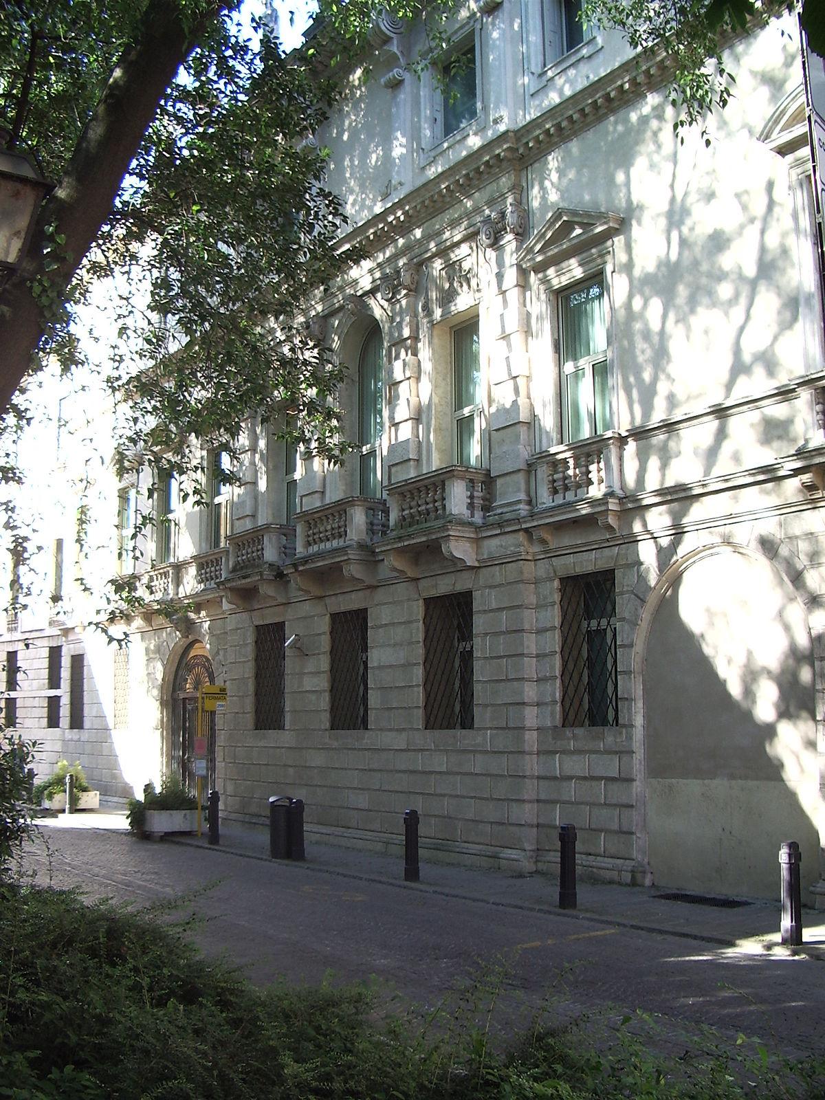 Palazzo Leoni Montanari Vicenza Wikipedia