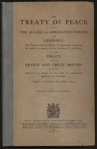 Treaty of Versailles   Wikipedia Treaty of Versailles