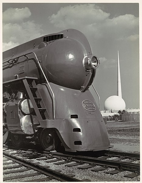 File Locomotive With Entrance To Perisphere Of 1939 New