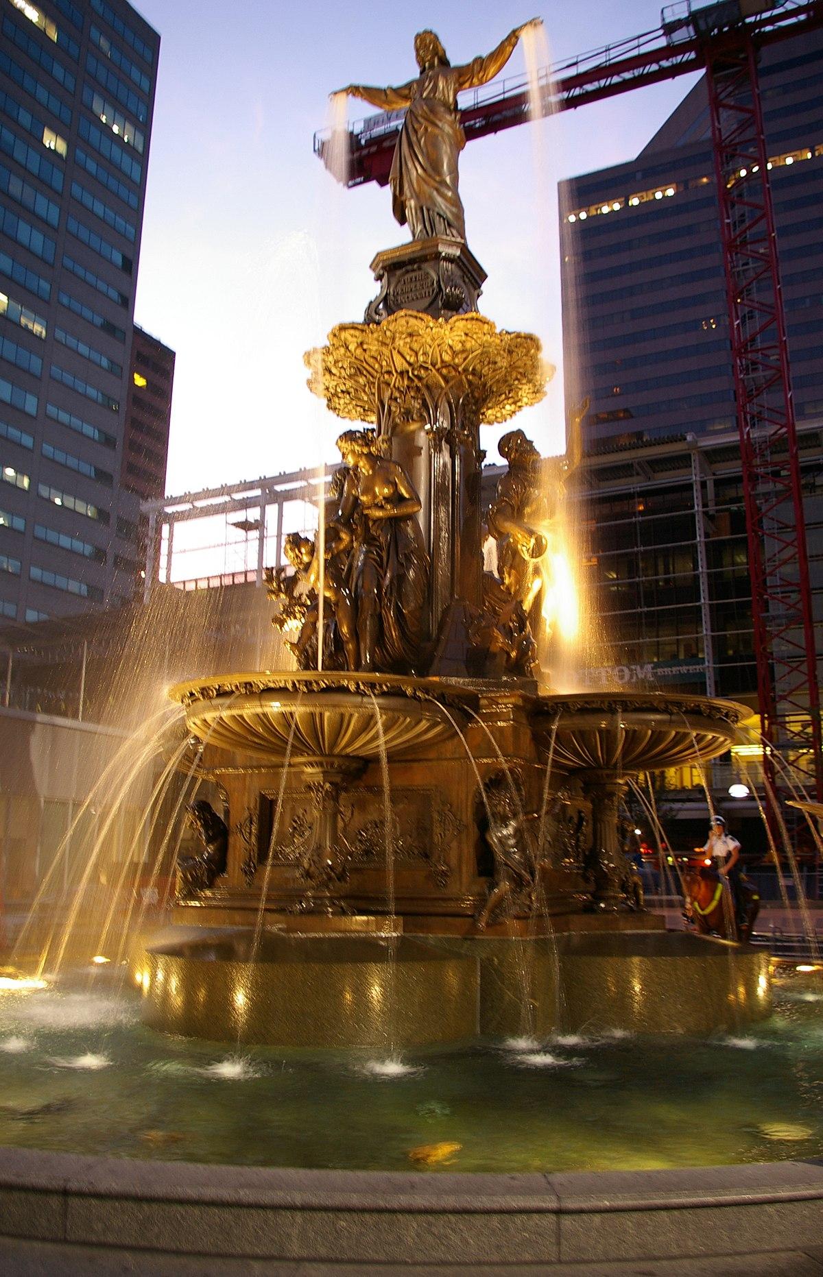 Tyler Davidson Fountain Wikipedia
