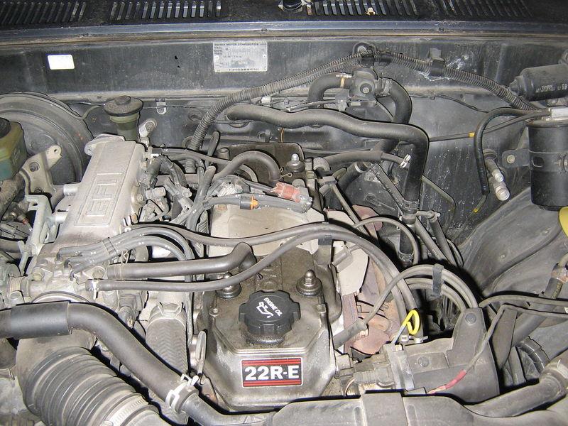 1989 Toyota 22re Vacuum Diagram
