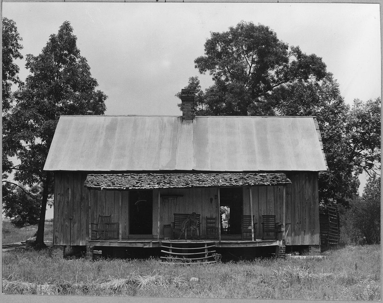File Coosa Valley Alabama Abandoned Farm Shacks On