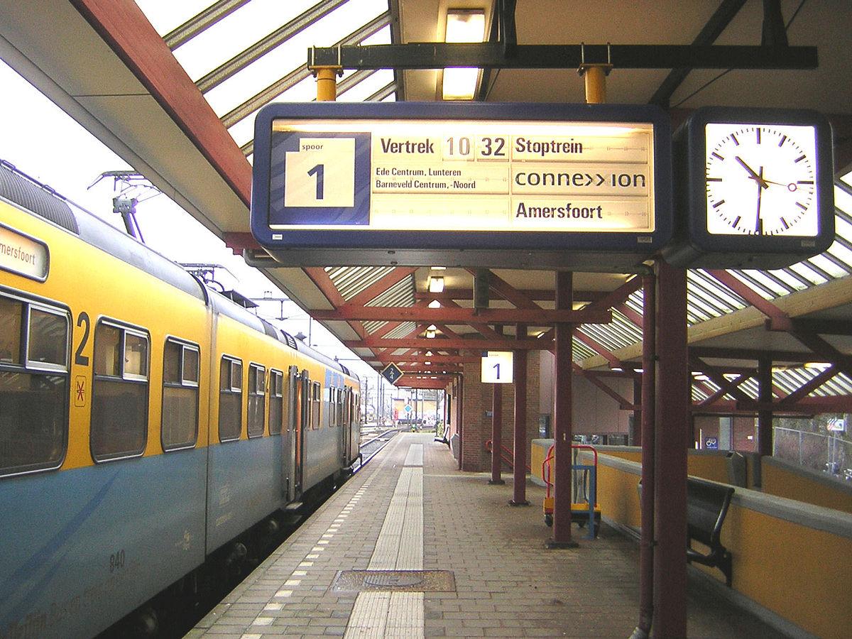 Ede Wageningen Railway Station Wikipedia