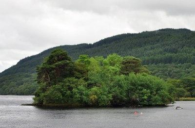 Inveruglas Isle - Wikipedia