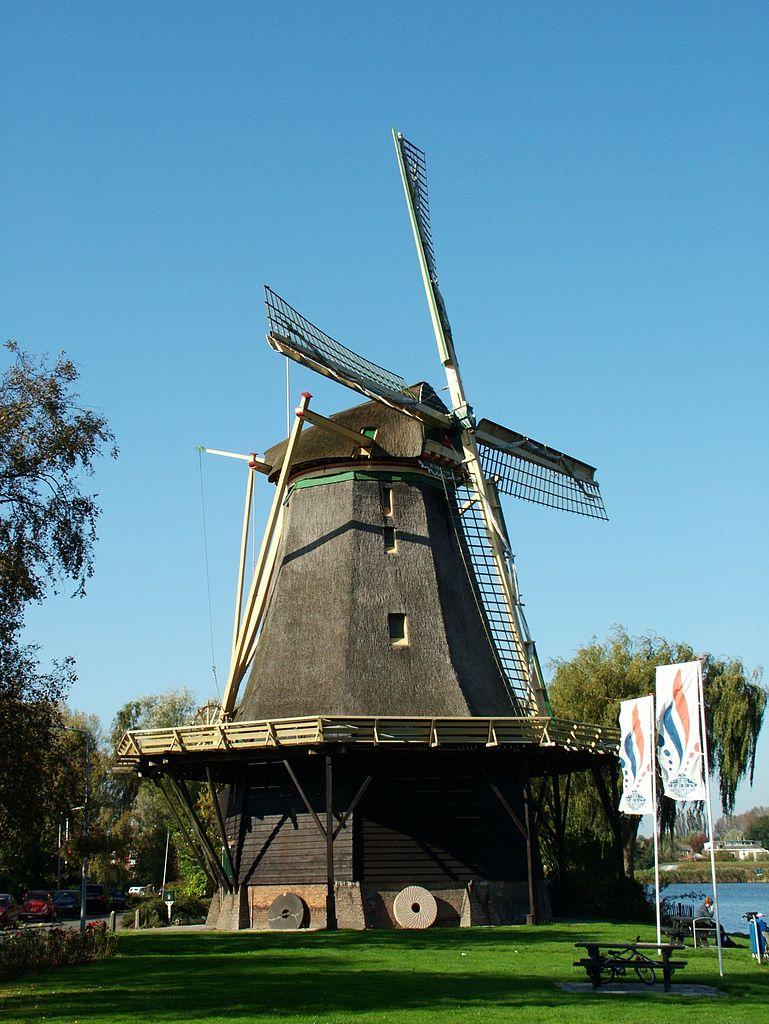 File Windmill Weesp Netherlands Jpg Wikimedia Commons