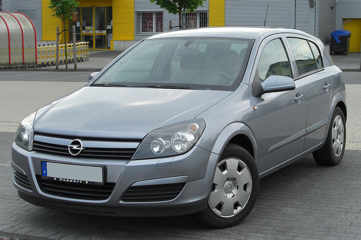 Opel Astra H – Wikipedia