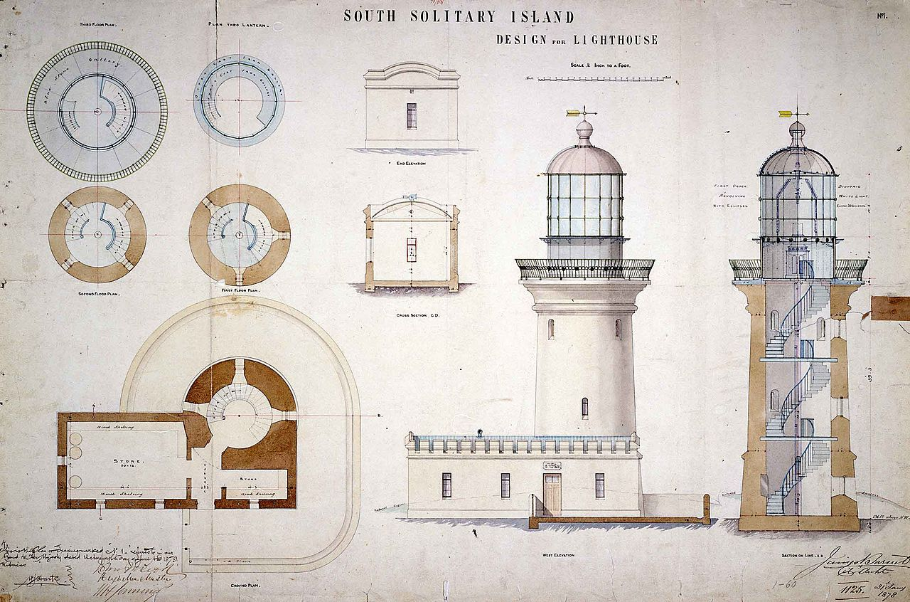 File South Solitary Island Light Design For Lighthouse