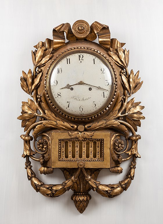 File Pendulum Clock By Jacob Kock Antique Furniture