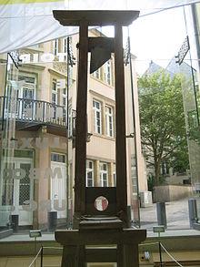 Capital Punishment In Luxembourg Wikipedia