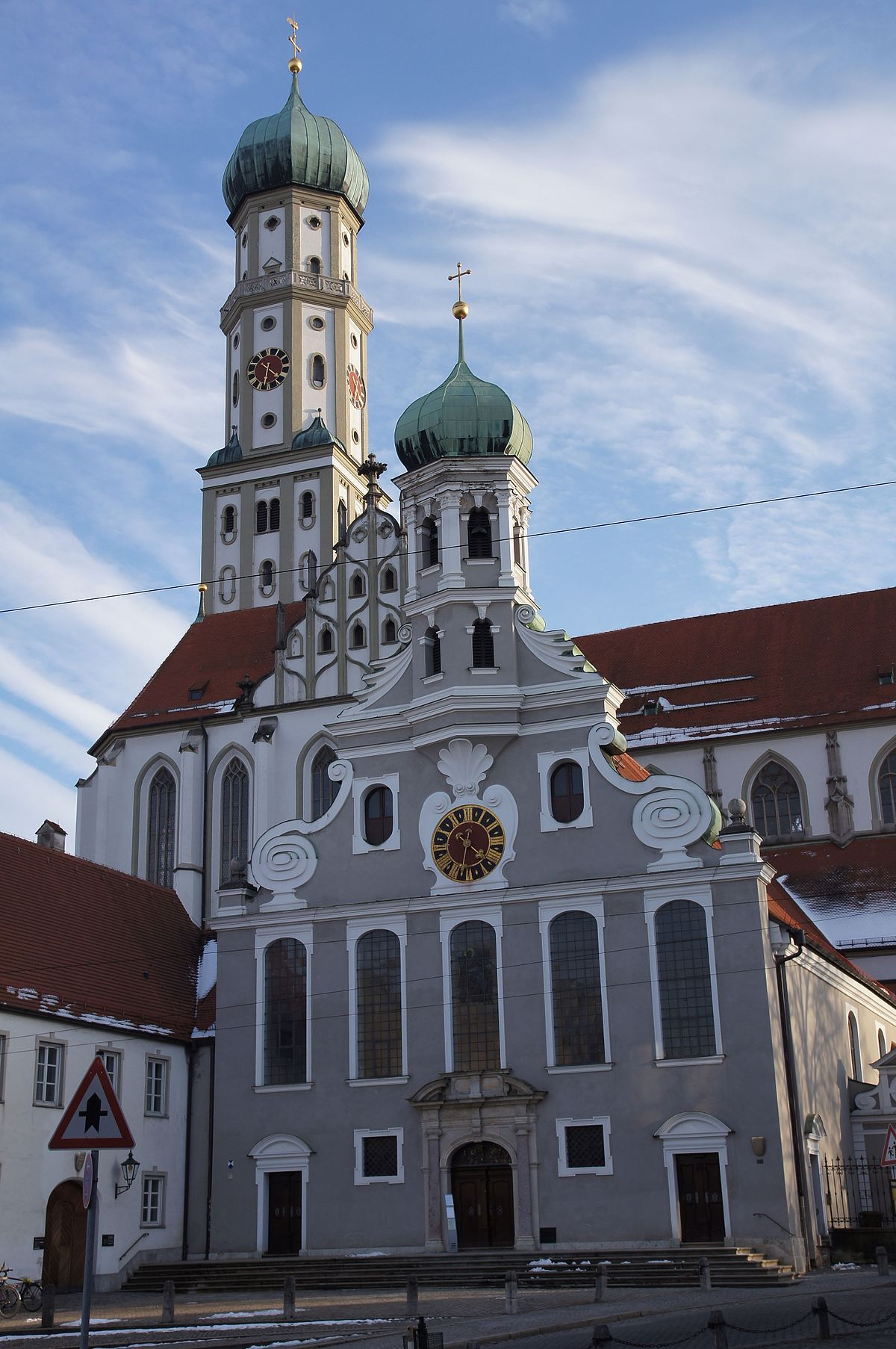 Basilica Of Ss Ulrich And Afra Augsburg Wikipedia