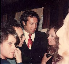 Chevy Chase   Wikipedia Chevy Chase at the private party after the premiere of the movie A Star is  Born  December 1976