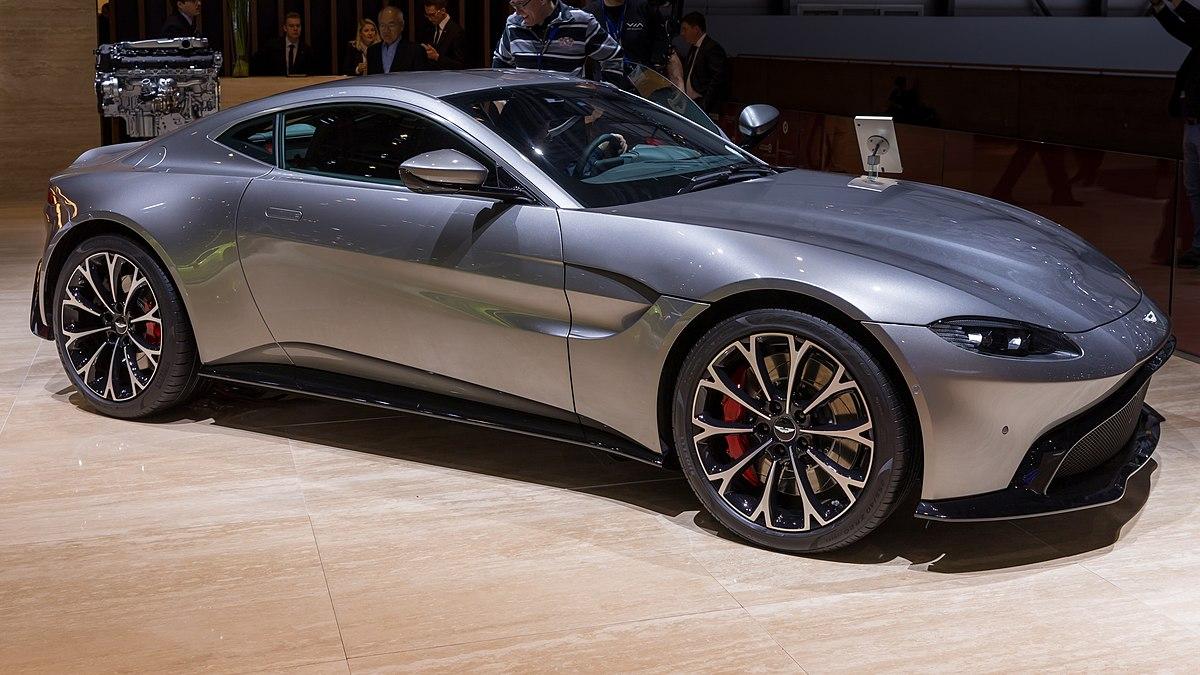 Aston Martin V8 Vantage (2019) - Wikipedia
