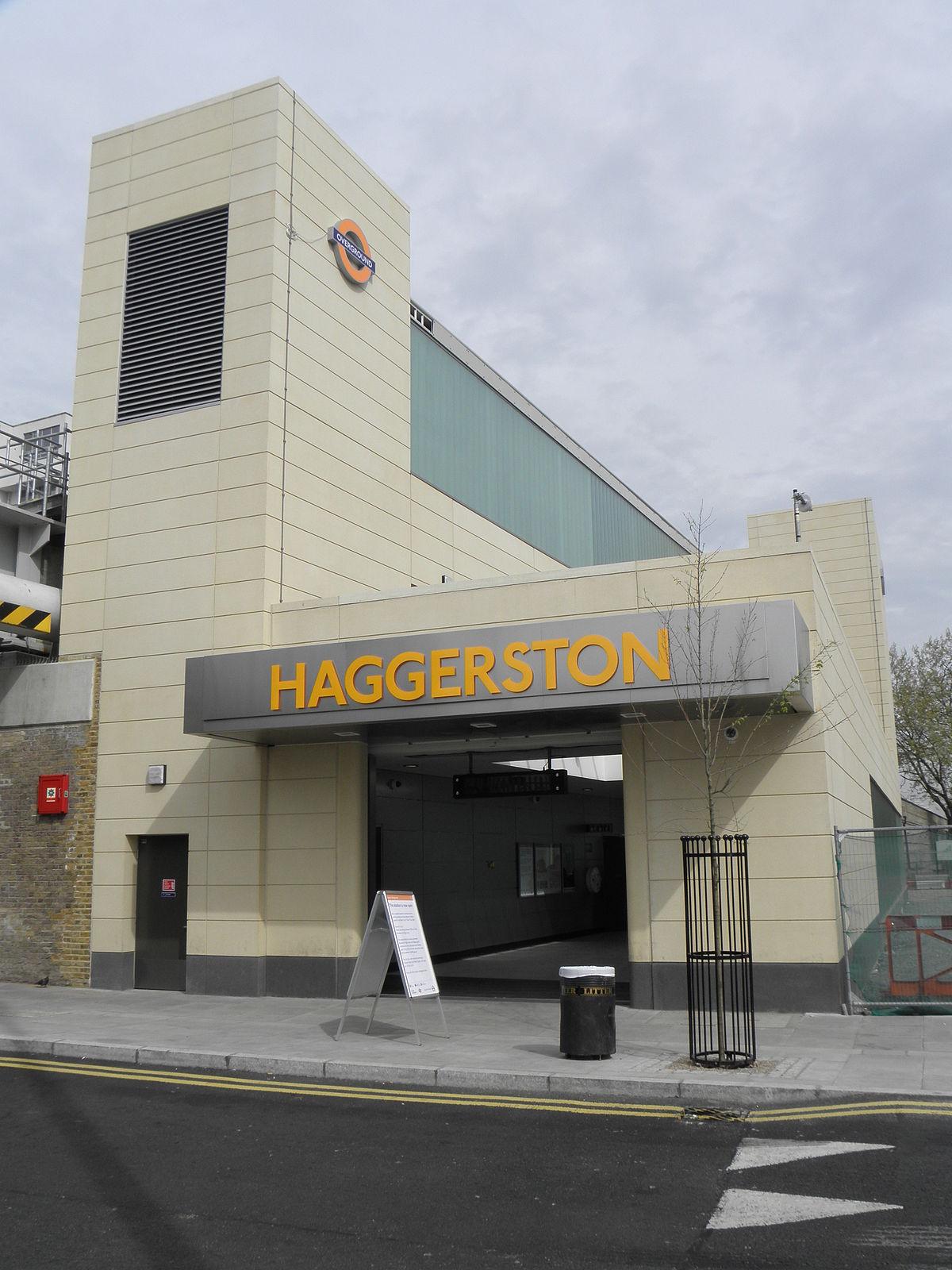 Haggerston Railway Station Wikipedia