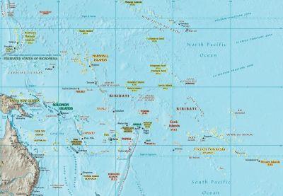Oseania - Wikipedia bahasa Indonesia, ensiklopedia bebas