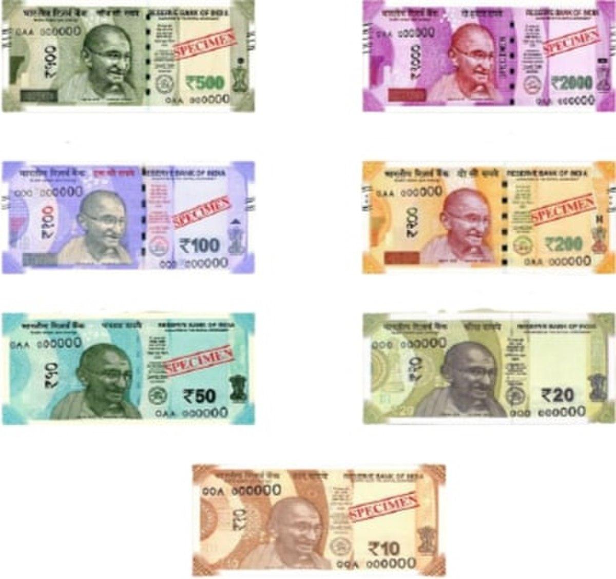 Indian rupee - Wikipedia