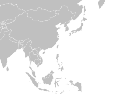 Map Of Asia Black And White.East Asia Map Black And White Design Templates