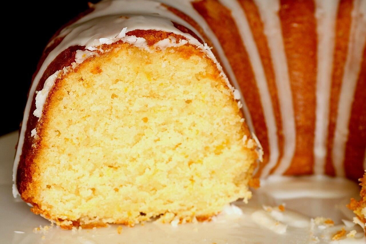 File Lemon Bundt Cake 3 January 2010 Jpg Wikimedia