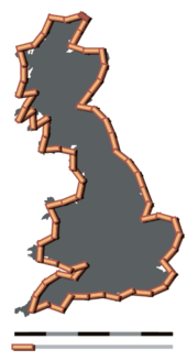 How Long Is The Coast Of Britain Statistical Self