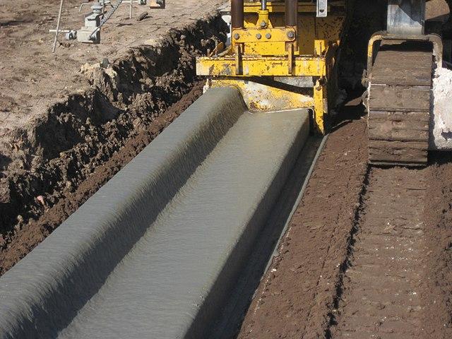 F Shape Concrete Barrier