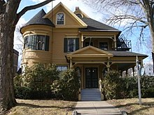 Queen Anne style architecture in the United States   Wikipedia Queen Anne style architecture in the United States