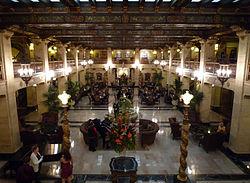 The Davenport Hotel Spokane Washington Wikipedia