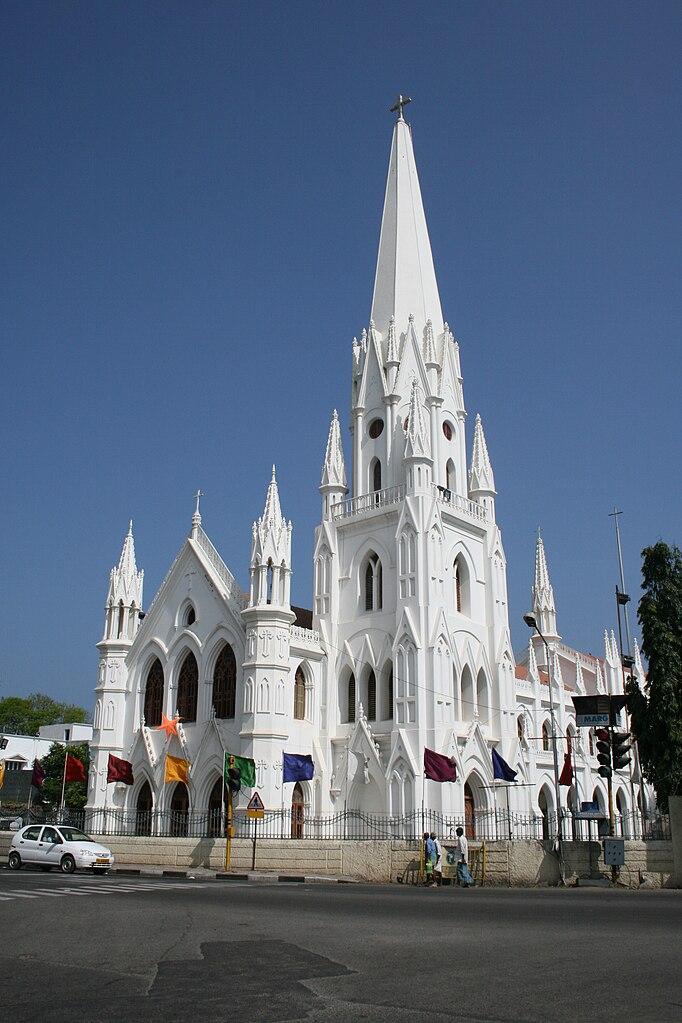 File St Thomas Basilica Mylapore Chennai Jpg Wikimedia