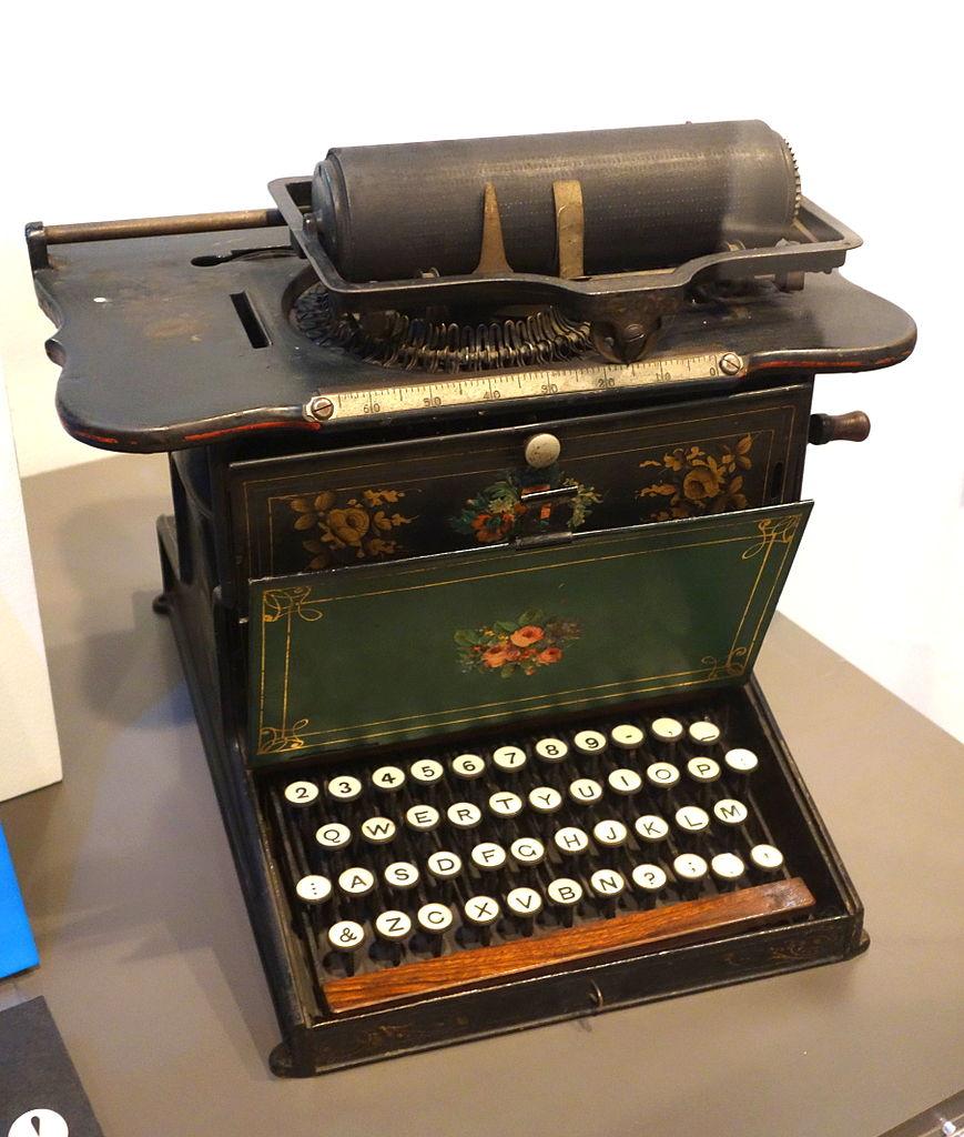 Latham Sholes Typewriter