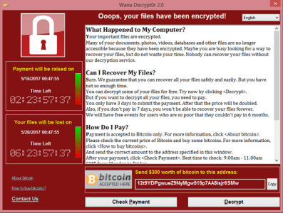 WannaCry Ransomware Attack - Wikipedia