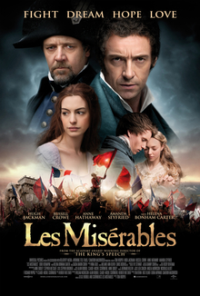 Les Mis    rables  2012 film    Wikipedia Les Mis    rables  The poster shows the young Cosette  played by Isabelle  Allen  in the background of