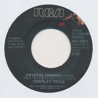 crystal chandeliers by charley pride # 10