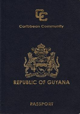 Guyanese Passport Wikipedia