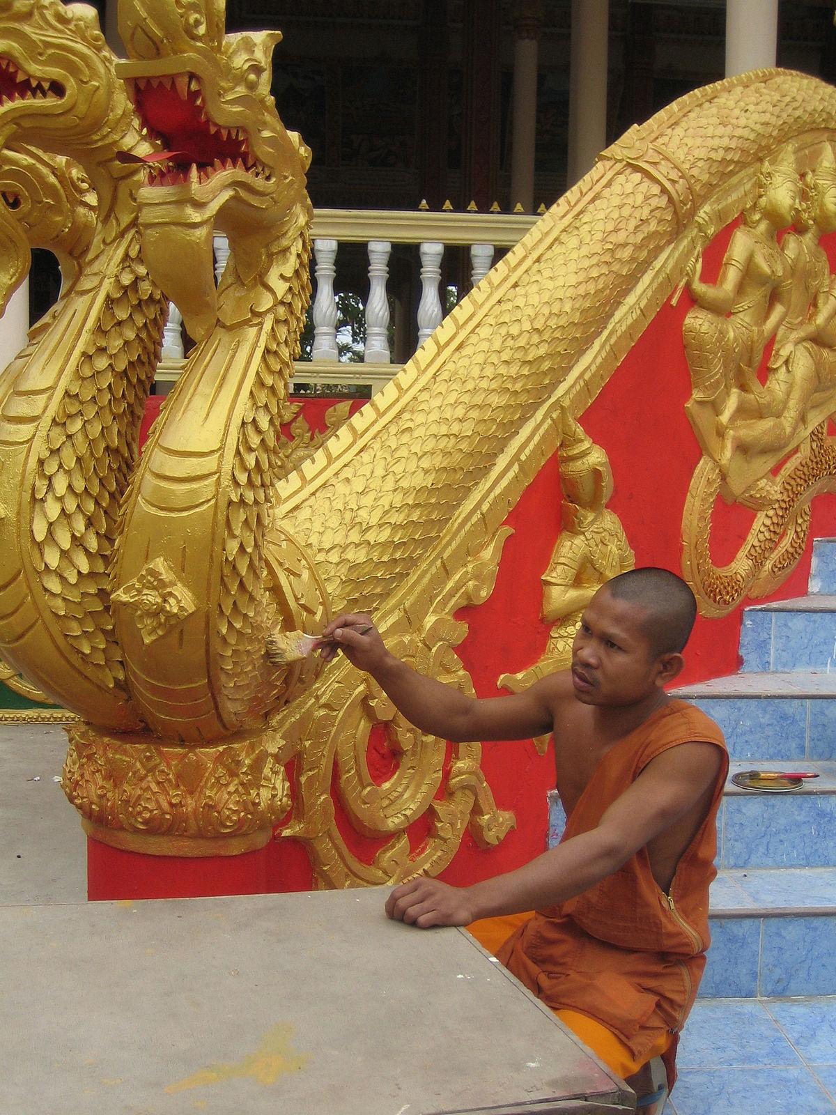 Lao Buddhist Sculpture Wikipedia