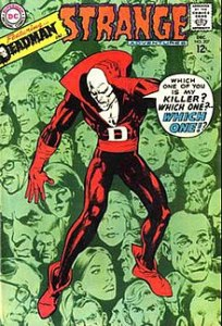 Neal Adams   Wikipedia Strange Adventures  207  Dec  1967   One of Adams  earliest DC Comics  covers  and his first for his signature character Deadman  already shows a  mature