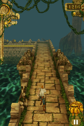 Platform game   Wikipedia Temple Run is considered to popularize the endless running format of  platform video games