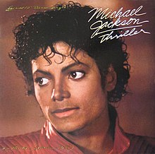 Thriller  song    Wikipedia Michael jackson thriller 12 inch single USA jpg