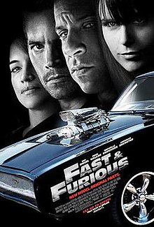 Fast   Furious  2009 film    Wikipedia Fast and Furious Poster jpg