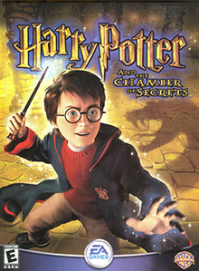 Harry Potter and the Chamber of Secrets  video game    Wikipedia Harry Potter and the Chamber of Secrets Coverart png