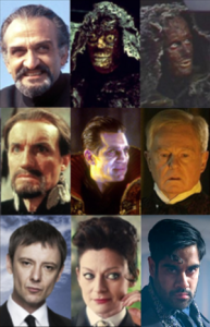 The Master  Doctor Who    Wikipedia The eight faces of the Master