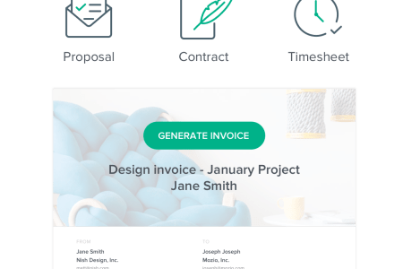 Invoicing Software for Freelancers   Bonsai Auto create professional invoices