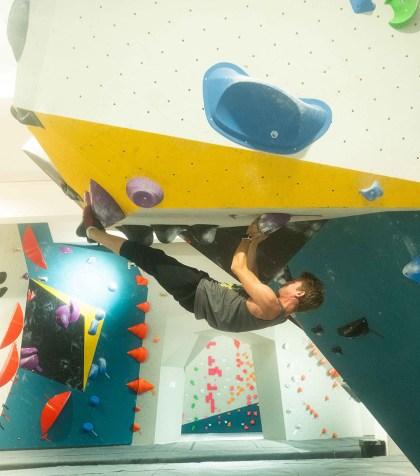 Vertical'Artwork, the modern temple of climbing