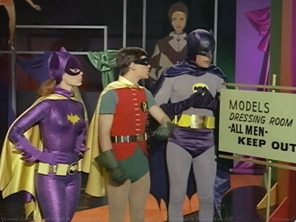 1960s Batman And Robin Wallpaper