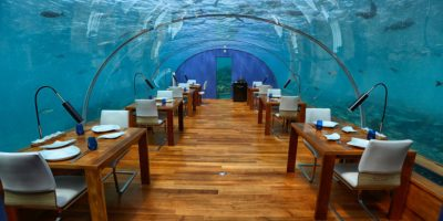 The Conrad Maldives Underwater Restaurant Ithaa Review ...