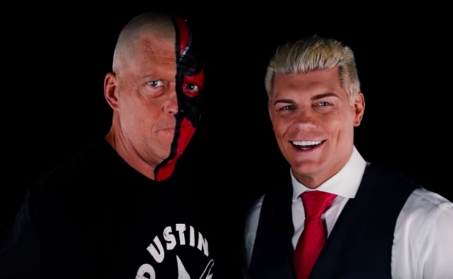 Dustin Rhodes Signed A Multi Year Contract With All Elite