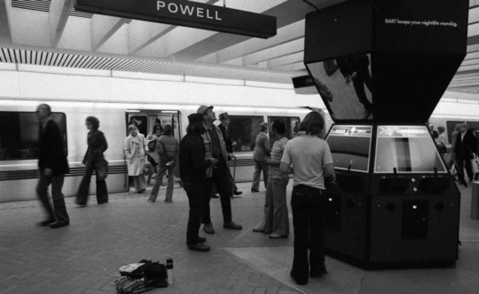 Pop Up Bart Arcade Proves Past Better Than Future Uptown
