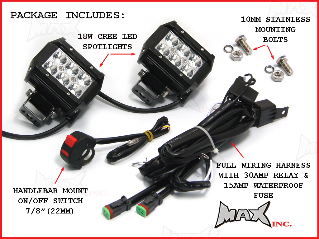Universal Relay Fuse Box Motorcycle