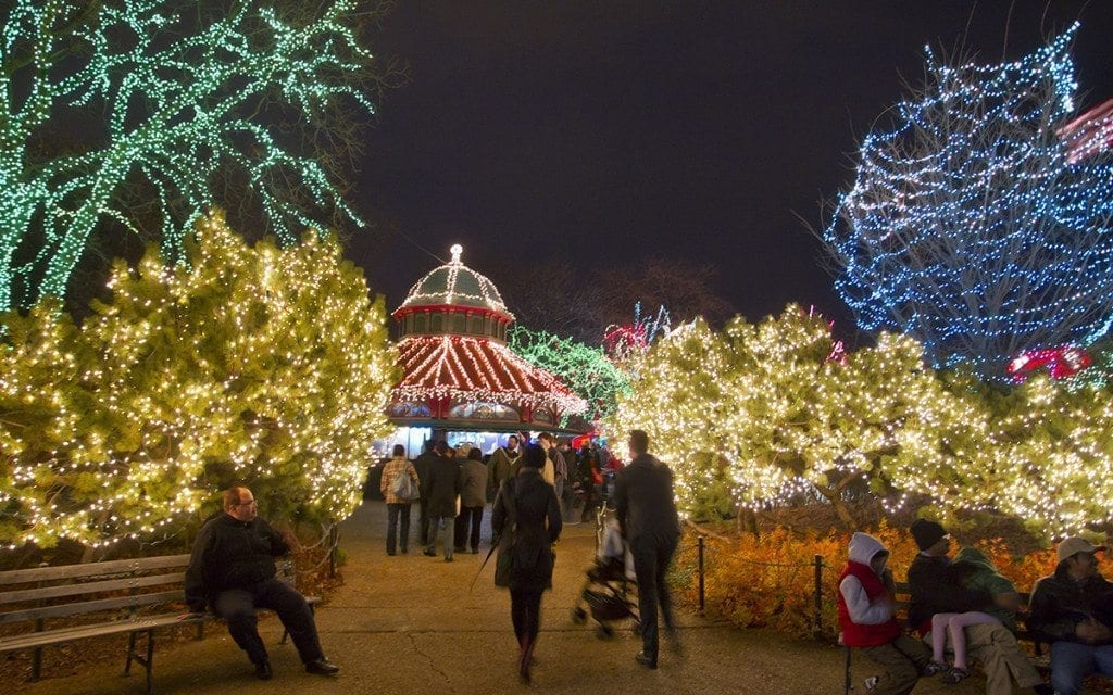 Zoo Lights 2017 Lincoln Park