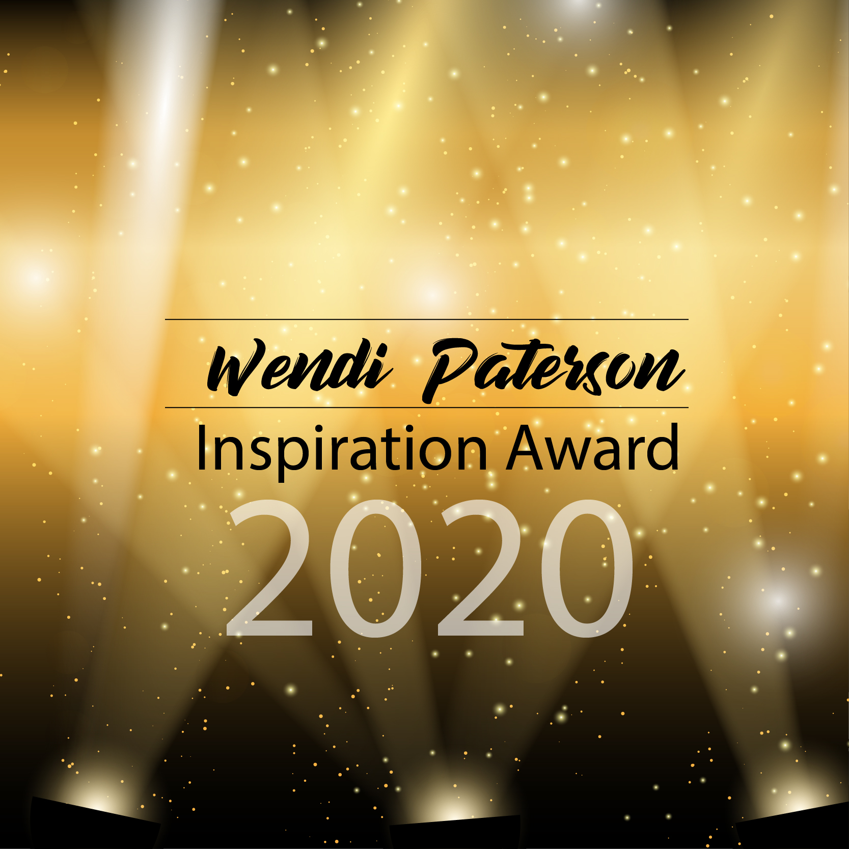 Wendi Paterson Inspiration Award – March 2020