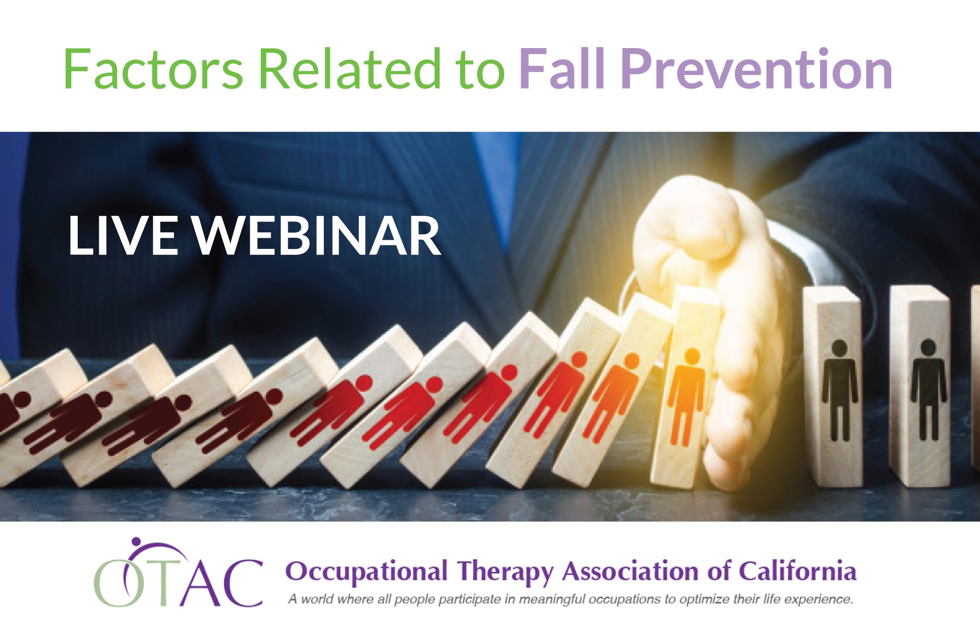 LIVE WEBINAR – FACTORS RELATED TO FALL PREVENTION