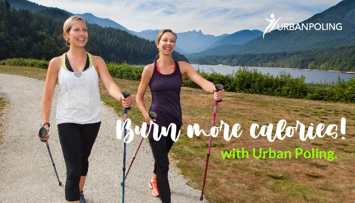 Burn more calories while you walk….Nordic Walking!!