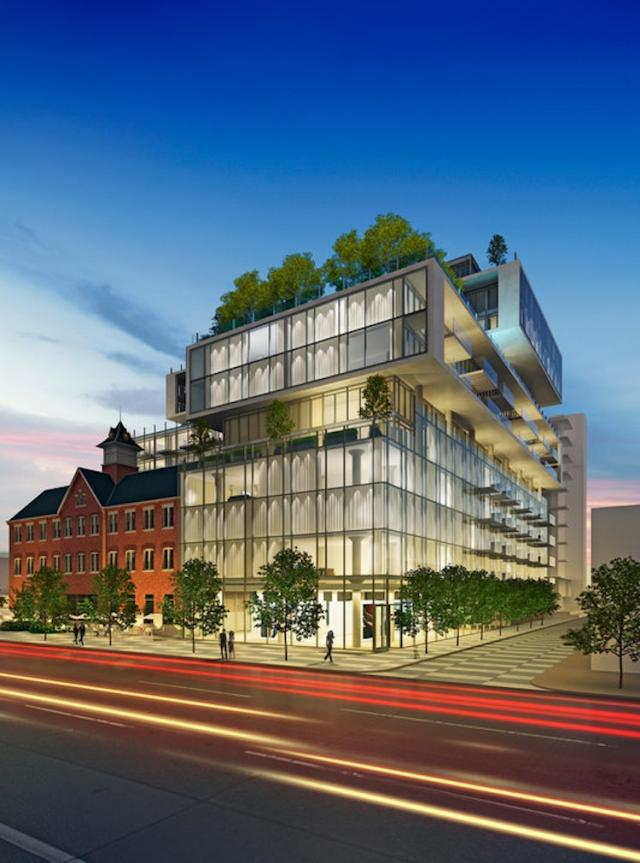 Fashion House   Urban Toronto Fashion House  12 storey version with wrong colour curtains   image  courtesy of